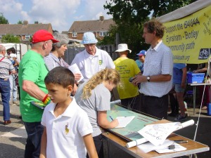Bike Safe got lots of signatures supporting the B4044 Community Path