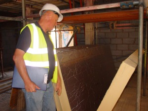 Bob of Weather Break admires our insulation