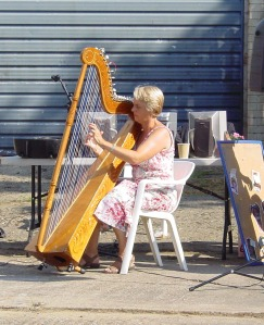Margaret playing the Parapuayan harp was a perfect end to the day