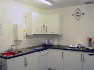 Kitchen with Zip instant hot water recommended